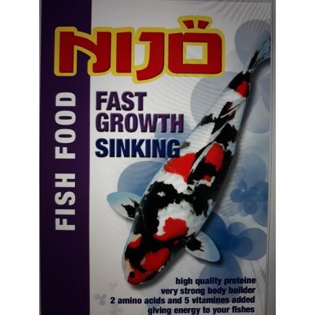 nijö growth sinking 10 kg